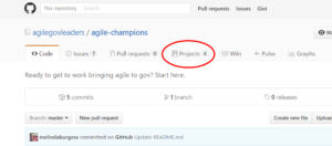 AGL GitHub Projects