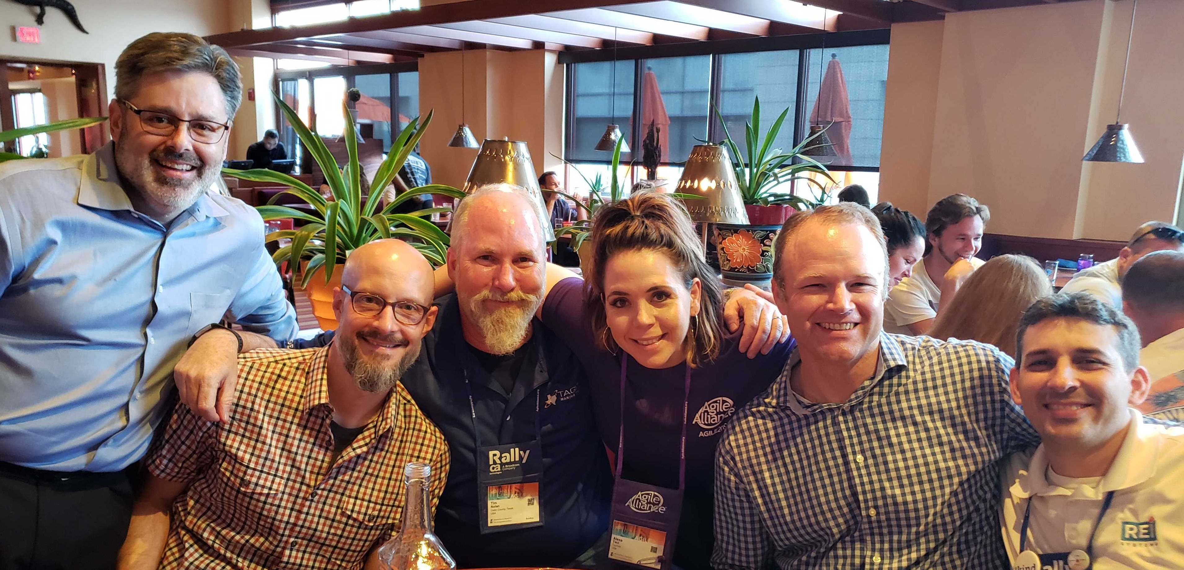 AGL working group at Agile2019